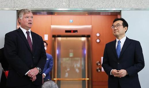 比根:美国将大力支持韩朝合作