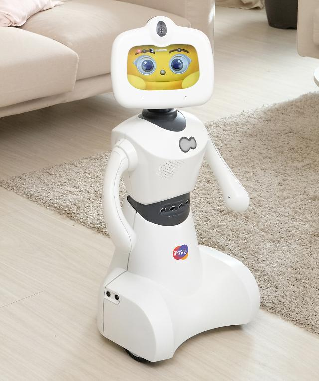 한컴로보틱스, 키즈노트와 연계한 영유아 교육용 AI 로봇 토키 선봬