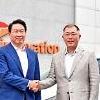 崔泰源会長に会った鄭義宣首席副会長 世界最高の企業と協業を拡大する