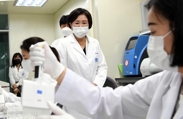김정숙 여사 코로나19 백신 개발, 국제 연대 절실
