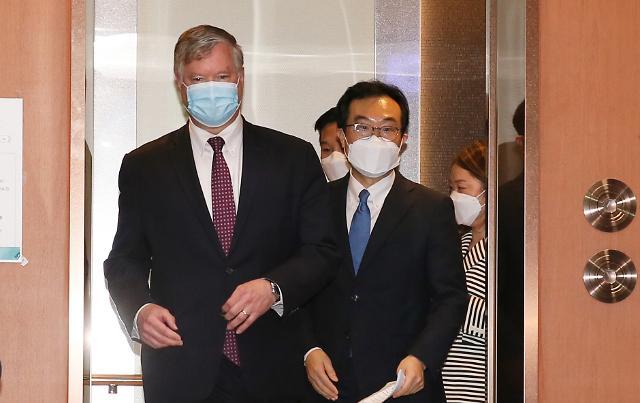 訪韓中の米ビーガン副長官、2泊3日の日程を終え9日午後には日本へ