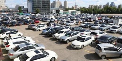 调查:韩二手车市场车龄9年以上汽车最畅销