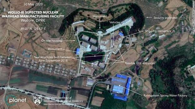美媒:平壤附近发现核项目活动迹象
