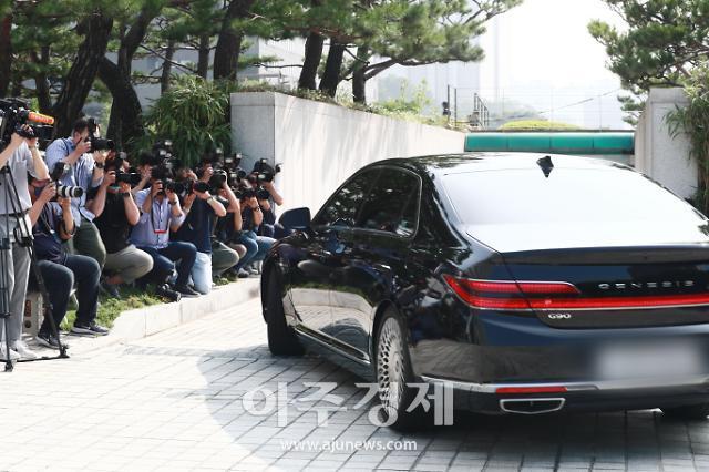 [포토] 대검 출근하는 윤석열 검찰총장