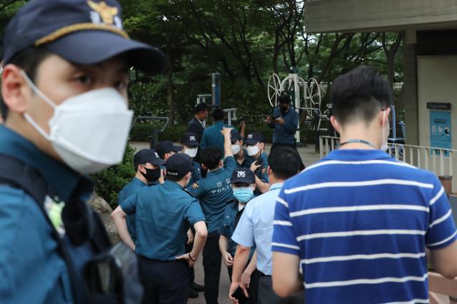 [포토] 박원순 시장 실종 수색 나선 경찰