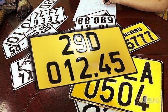 베트남, 한국처럼...영업용 차량번호판 노란색으로 바꾼다