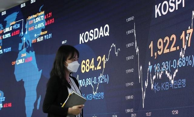 外资6月在韩减持股票24亿元增持债券205亿元