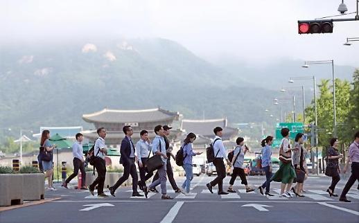 调查:过半韩国年轻人首份工作干不满一年