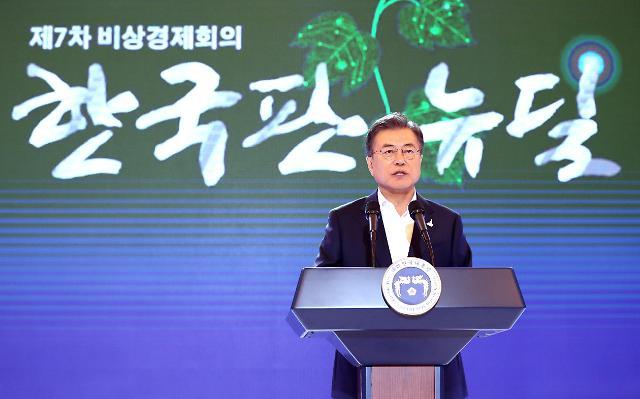 文大統領「2025年まで160兆ウォンを投入・190万人の雇用創出」