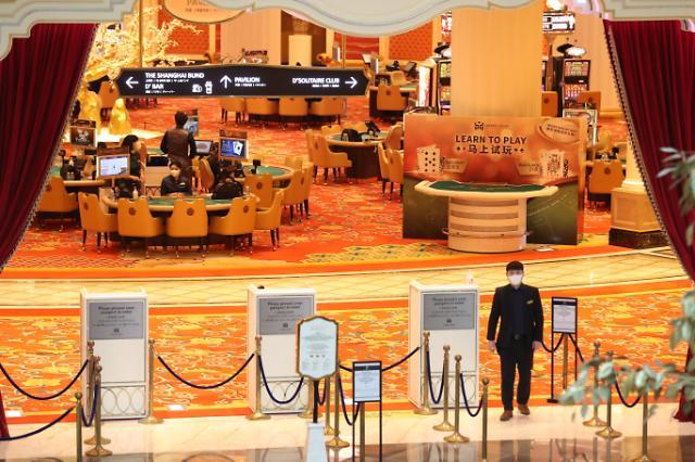"""外国游客几近""""绝迹"""" 赌场免税店面临破产危机"""