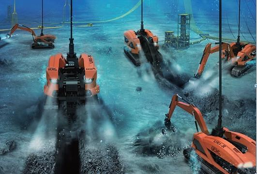 Home-made underwater construction robots ready for on-site work