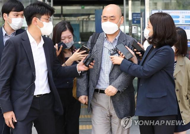 고한석 경찰 조사 성추행 피해...보고받은 적 없다
