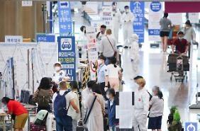 Ngày 16/07/2020 Hàn Quốc ghi nhận 61 ca nhiễm, trong đó có tới 47 ca nhiễm từ nước ngoài, tổng số 13.612