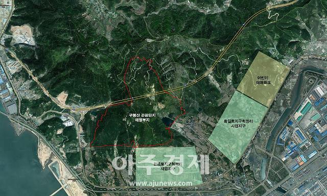 광양 구봉산관광단지조성 27일부터 토지매입