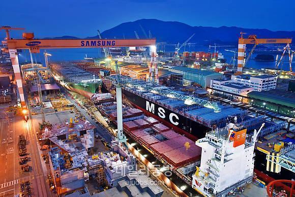 삼성중공업, 해양부문 일감 축소에 깊어지는 고민