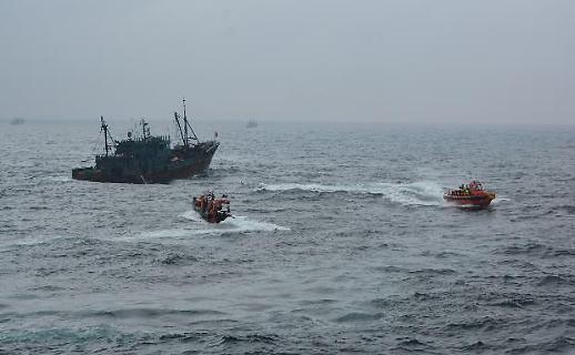 韩国海洋部和海警将合力打击中国渔船非法捕捞