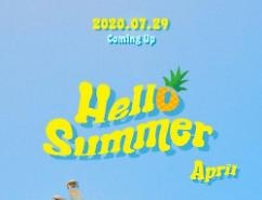 Nhóm nhạc APRIL sẽ trở lại với single đậm chất mùa hè Hello Summer vào 29/7