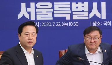 김두관, 행정수도특별법 대표발의 철회…당내 TF에 제출할 것