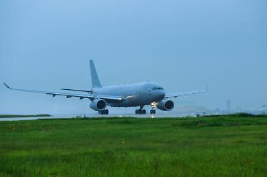 [코로나19] 공군 공중급유기 오늘 이라크행... 근로자 297명 수송