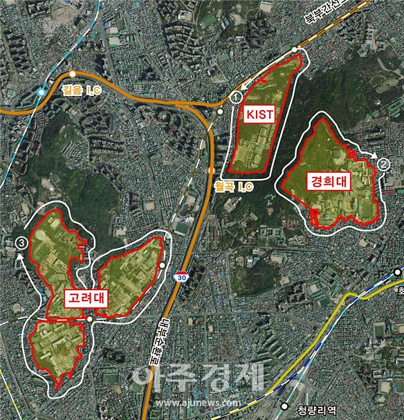 홍릉, 서울시 최초의 강소연구개발특구 지정…바이오클러스터 조성한다