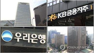 [금융지주 상반기 결산] 코로나19·사모펀드 사태에 순위 요동