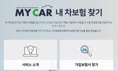 자동차보험 가입 거절당했다면…보험개발원 내 차보험 찾기 활용하세요