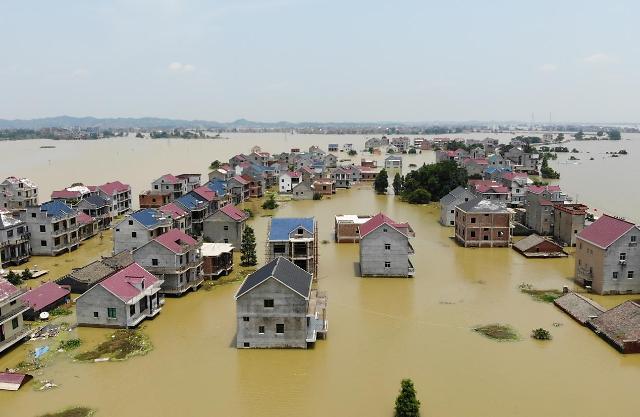 최악의 홍수에 中 수재민 韓 인구수 넘어...긴장감 고조