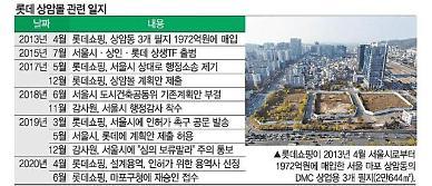 7년 표류 롯데 상암몰 급물살…판매시설 반으로 줄인다