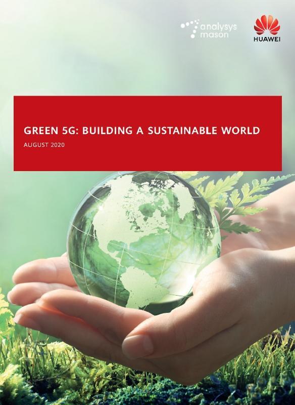 화웨이, 5G 친환경 기여도 담은 '그린 5G 백서' 발간