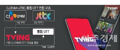 CJ ENM 티빙 물적분할 10월 1일로 연기…공정위 심사 지연