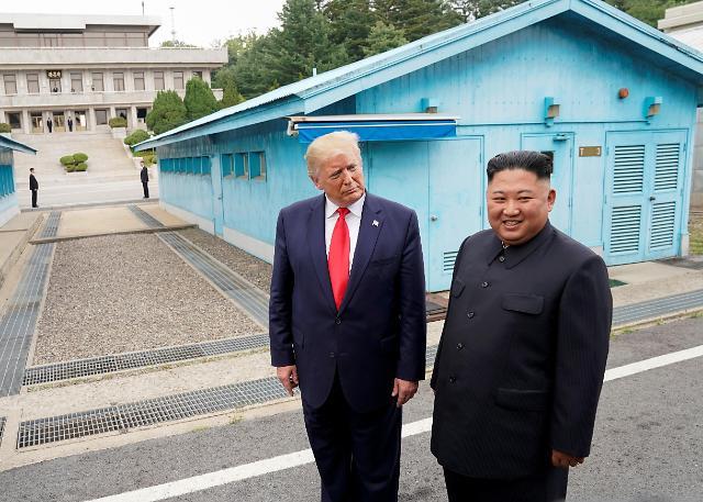 """볼턴 """"트럼프-김정은 다시 만난다...10월 북미 정상회담은 기정사실"""""""