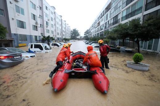 大田暴雨造成1人死亡