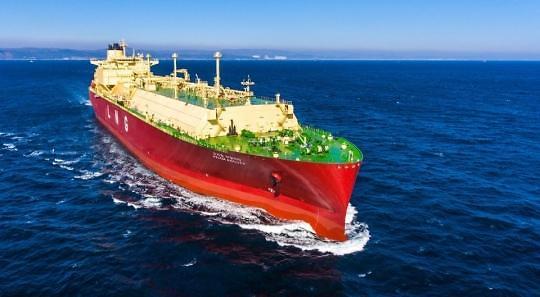 한국조선해양, 올해 국내 첫 LNG선 수주...9000억 규모