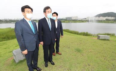 [민주당 전대 토론회] 이낙연 대규모 부동산 재개발 사업 시작돼야