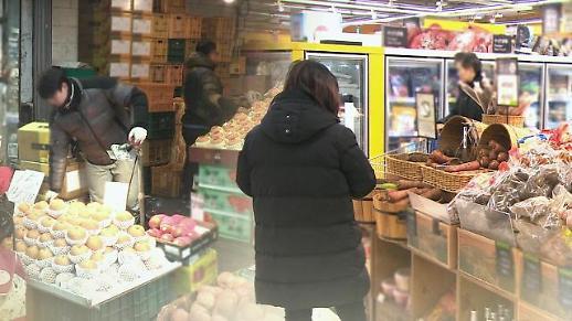 统计:韩居民第一季度生活必需消费占比超四成