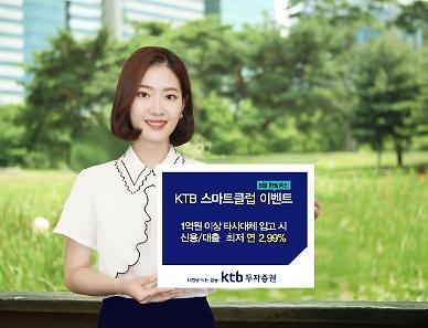 KTB투자증권, 비대면 계좌 'KTB스마트클럽' 가입 이벤트