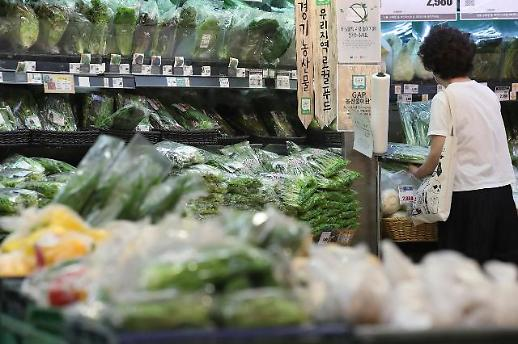 韩国7月CPI同比上涨0.3% 时隔三月回升