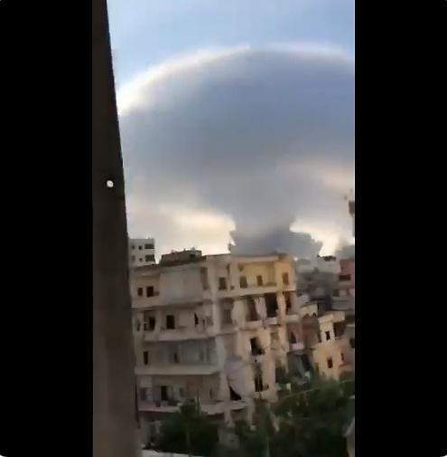 레바논 수도 베이루트 쑥대밭 만든 대형 폭발...원인은 화재? 공격?