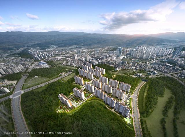 원주혁신도시 제일풍경채 센텀포레 7일 모델하우스 오픈