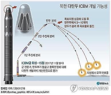 북한 핵 소형화說에... 美 북한 핵·미사일 최상의 위협