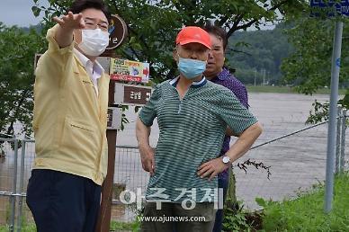 김성원 연천 수해현장 방문 특별재난지역 지정 앞장서겠다