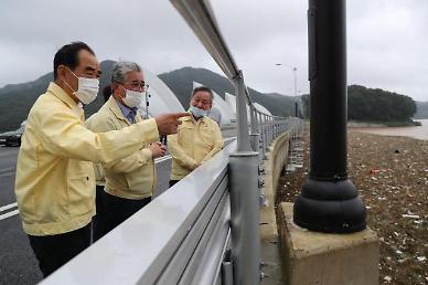 김인식 농어촌공사 사장 배수 관리 재난과 직결, 선제 대응해야