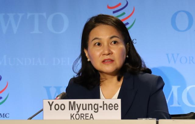 韩WTO总干事候选人:争取日方支持