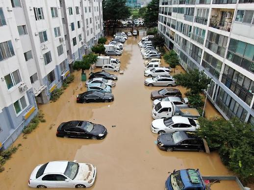 韩今夏自然灾害致车辆受损事件频发 赔付额已达2.7亿元