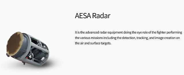 S. Korea unveils home-made AESA radar for next-generation fighter jet