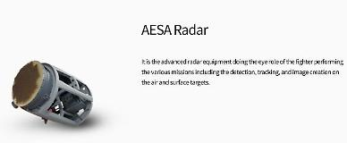 S. Korea unveils home-made AESA radar for next-generation fighter jet
