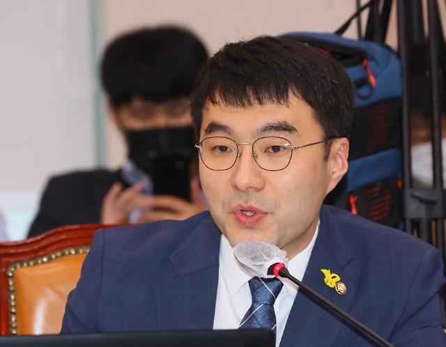 """김남국, 애완용 검사 득세 발언 김웅 향해 """"尹 대변인이냐"""""""