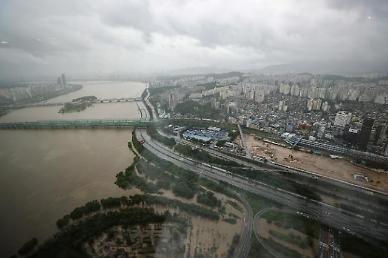 올림픽대로·동부간선 등 서울 주요도로 통제… 월요일 출근, 대중교통 이용