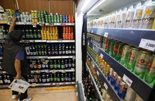 7月韩国日产消费品进口额同比下滑23.4%
