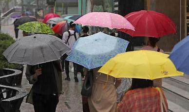 시간당 90㎜ 폭우 내린 양주...양주역 침수